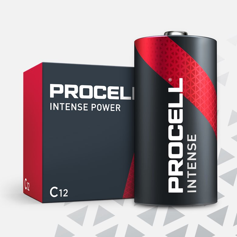Procell Alkaline Intense Power C, 1.5v