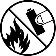 Do not dispose in fire